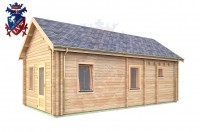 Log Cabin Hastings 4.0m x 8.0m - 648 3
