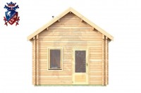 Log Cabin Hastings 4.0m x 8.0m - 648 4