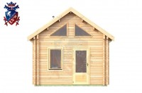 Log Cabin Hastings 4.0m x 8.0m - 648 1