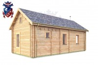 Log Cabin Newhaven 4.0m x 8.0m - 649 3