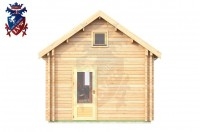Log Cabin Newhaven 4.0m x 8.0m - 649 1