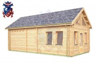 Log Cabin Upperton 4.0m x 8.0m - 651 2