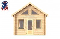 Log Cabin Upperton 4.0m x 8.0m - 651 1