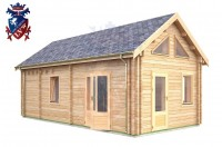 Log Cabin Uckfield 4.0m x 8.0m - 655 3