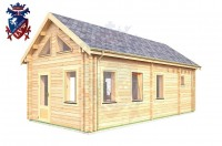 Log Cabin Uckfield 4.0m x 8.0m - 655 2