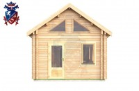 Log Cabin Uckfield 4.0m x 8.0m - 655 1