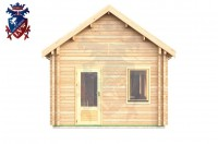 Log Cabin Uckfield 4.0m x 8.0m - 655 4
