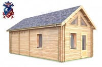 Log Cabin Clive Vale 4.0m x 8.0m - 659 2