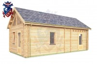 Log Cabin Clive Vale 4.0m x 8.0m - 659 3