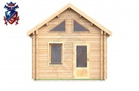 Log Cabin Clive Vale 4.0m x 8.0m - 659 1