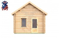 Log Cabin Clive Vale 4.0m x 8.0m - 659 4