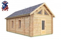 Log Cabin Maresfield 4.0m x 8.0m - 664 2