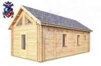 Log Cabin Maresfield 4.0m x 8.0m - 664 3