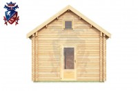 Log Cabin Maresfield 4.0m x 8.0m - 664 4