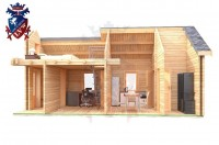 Log Cabin Maresfield 4.0m x 8.0m - 664 8