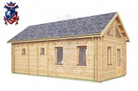 Log Cabin Exceat 4.0m x 8.0m - 667 2