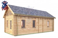 Log Cabin Exceat 4.0m x 8.0m - 667 3