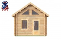 Log Cabin Exceat 4.0m x 8.0m - 667 1