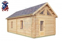 Log Cabin Broad Oak 4.0m x 8.0m - 668 2