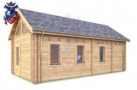 Log Cabin Broad Oak 4.0m x 8.0m - 668 3