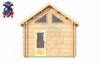 Log Cabin Broad Oak 4.0m x 8.0m - 668 4