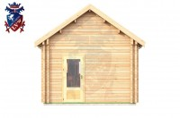 Log Cabin Broad Oak 4.0m x 8.0m - 668 1