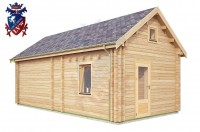 Log Cabin BroaEtchingham 4.0m x 8.0m - 669 2