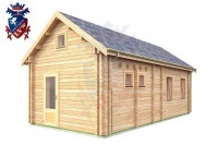 Log Cabin BroaEtchingham 4.0m x 8.0m - 669 3