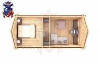 Log Cabin BroaEtchingham 4.0m x 8.0m - 669 5