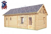 Log Cabin Crowborough 4.0m x 8.0m - 672 3