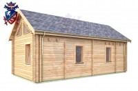 Log Cabin Crowborough 4.0m x 8.0m - 672 2