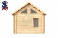Log Cabin Crowborough 4.0m x 8.0m - 672 4