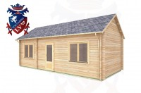 Log Cabins Barcombe 7.8m x 3.5m - 304