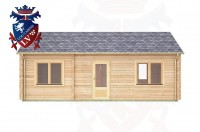 Log Cabins Barcombe 7.8m x 3.5m - 304 3