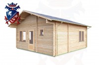 Log Cabins Hailsham 5.5 m x 5.7m - 019 3