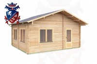 Log Cabins Isfield 5.7 m x 5.0m - 020 2