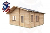 Log Cabins Isfield 5.7 m x 5.0m - 020 3