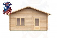 Log Cabins Isfield 5.7 m x 5.0m - 020 4