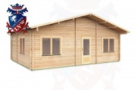 Log Cabins Withyham 7.5m x 5.5m - 296 2