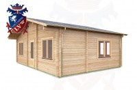 Log Cabins Withyham 7.5m x 5.5m - 296 4