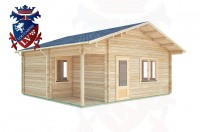 Log Cabins Westham 5.5m x 6.3m - 293 3
