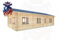 Log Cabins Arlington 5.5m x 10.6m - 309 3