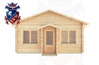 Log Cabins Jevington 5.5m x 5.5m - 307 1