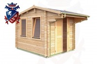 Log Cabins Langney 2.35m x 2.95m - 038 2