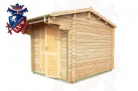 Log Cabins Langney 2.35m x 2.95m - 038 3