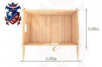 Log Cabins Southease 3.55m x 2.35m - 040 5