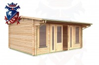 Log Cabins Northiam 5.0m x 4.0m - 045 3