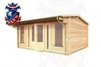 Log Cabins Northiam 5.0m x 4.0m - 045 2