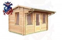 Log Cabins Stone Cross 3.55m x 2.35m - 046 2