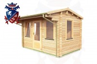 Log Cabins Stone Cross 3.55m x 2.35m - 046 3